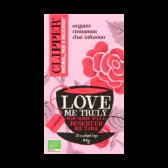Clipper Organic cinnamon chai infusion tea love me truly