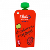 Ella's Kitchen Biologische aardbeien en appels (vanaf 4 maanden)