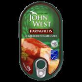 John West Herring filets in spiced tomato sauce