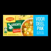 Maggi Vegetable stock family pack