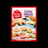 Home Made Complete mix voor kleurige koekjes