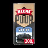 Klene Pure salty licorice