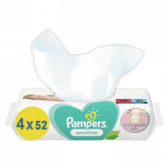 Pampers Sensitive baby wipes 4-pack