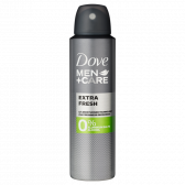 Dove Extra fresh deo spray men + care large (only available within Europe)