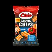 Chio Paprika lentil crisps