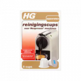 HG Cleansing cups for nespresso machines