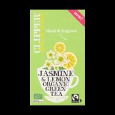 Clipper Organic green jasmin and lemon tea