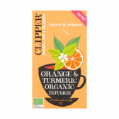 Clipper Organic orange and kurkuma infusion tea