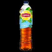 Lipton Ice tea sparkling zero sugar fresh large