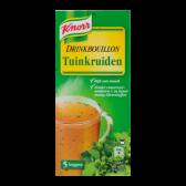 Knorr Garden herbs drink bouillon