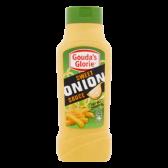 Gouda's Glorie Sweet onion sauce