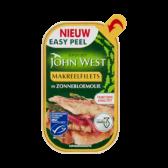 John West Makreelfilets in zonnebloemolie