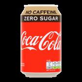 Coca Cola Cafeinevrij en suikervrij blik
