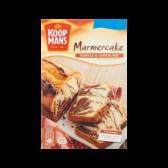 Koopmans Marmercake mix vanille en chocolade