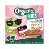 Organix Soft oat bars with apple and raspberry for kids