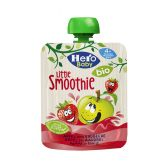 Hero Baby organic smoothie with apple and strawberry (from 4 months)