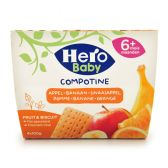 Hero Baby apple, banana and orange (from 6 to 36 months)