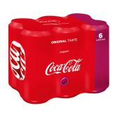 Coca Cola Cherry can small 6-pack