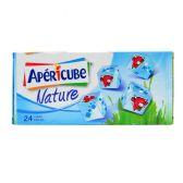 Apericube Naturel blokjes (voor uw eigen risico, geen restitutie mogelijk)