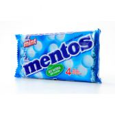 Mentos Mint sweets rolls 4-pack