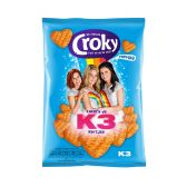 Croky K3 hearts paprika crisps