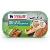 Delhaize Makreelfilets in olijfolie