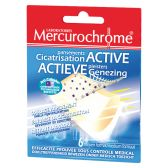 Mercurochrome Plasters active healing