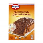 Dr. Oetker Chocolade cake glazuur bereiding