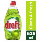 Dreft Appel afwasmiddel schoon en fris klein