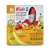 Delhaize Appel en banaan compote voor kinderen
