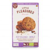 Little Pleasures Biologische glutenvrije haver-chocolade koekjes