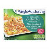 Weight Watchers Spaghetti met gambas en groente (alleen beschikbaar binnen Europa)