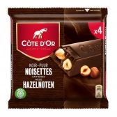 Cote d'Or Dark chocolate with nuts tablets