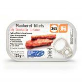 Delhaize 365 Makreelfilets in tomatensaus