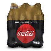 Coca Cola Sugar free zero caffeine small 6-pack