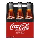 Coca Cola Suikervrij glas 6-pack
