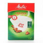 Melitta Original 102 witte koffiefilters