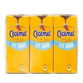 Cecemel Chocolate milk less sugar tetra 6-pack