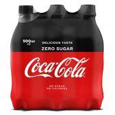 Coca Cola Suikervrij klein 6-pack