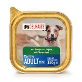 Delhaize Hondenvoeding met konijn terrine (alleen beschikbaar binnen Europa)