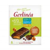 Gerlinea Chocolate bars with hazelnuts
