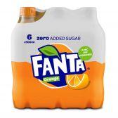 Fanta Orange zero small 6-pack