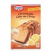 Dr. Oetker Citroen cake bereiding