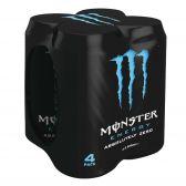 Monster Energy absolutely zero 4-pack