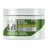Taft Pure styler medium hold hair gel