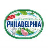 Philadelphia Verse kaasspecialiteit look en fijne kruiden light (voor uw eigen risico, geen restitutie mogelijk)