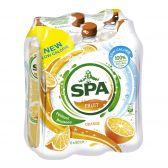 Spa Orange fruit lemonade 6-pack