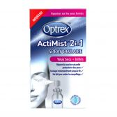 Optrex Eye spray actimist 2 in 1 for dry and irritating eyes
