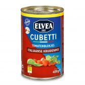 Elvea Cubetti tomatenblokjes met Italiaanse kruiden