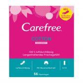 Carefree Pantyliners cotton fresh